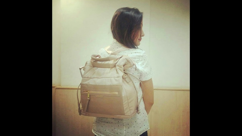 Un-boxing of Oriflame's Light Luxury Convertible Tote Bag