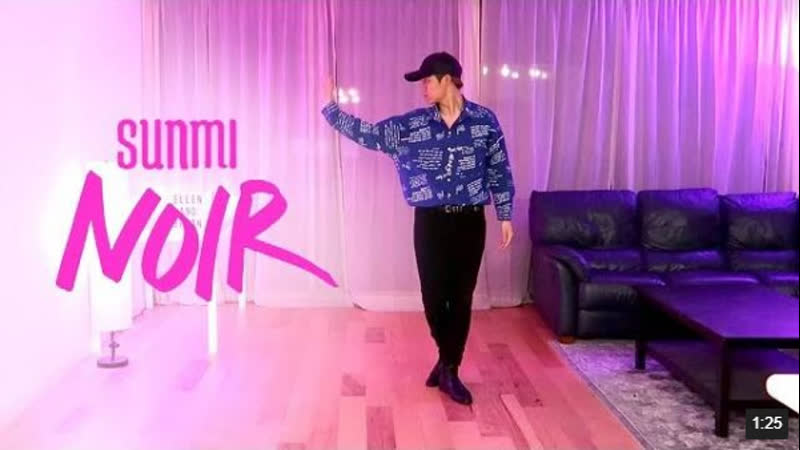 Sunmi (선미) - Noir (누아르) Dance Freestyle ¦ Ellen and Brian