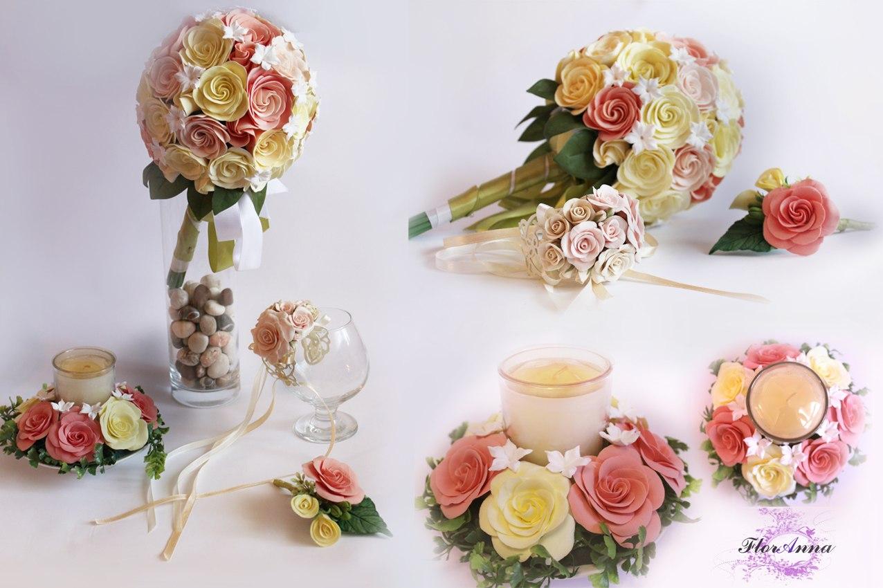 Цветы из полимерной глины: пошаговая инструкция для начинающих 74