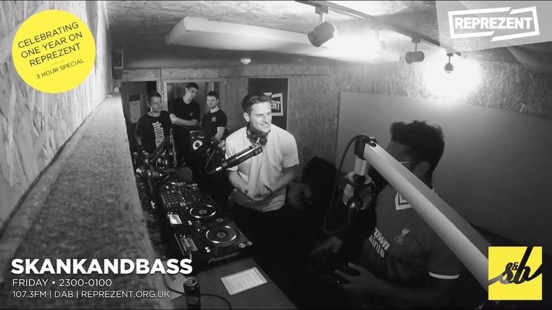 Skankandbass On Reprezent - 012 - Culture Shock Guest Mix