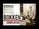 Aikido O Sensei Bokken Compilation from all popular videos Morihei Ueshiba