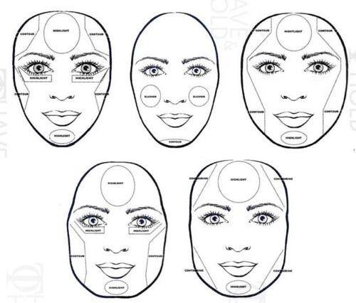 для коррекции формы лица