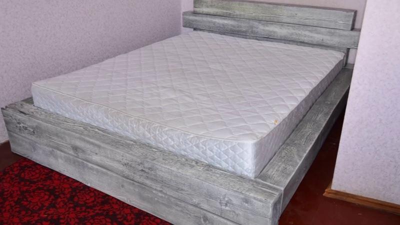 Кровать в стиле LOFT своими руками