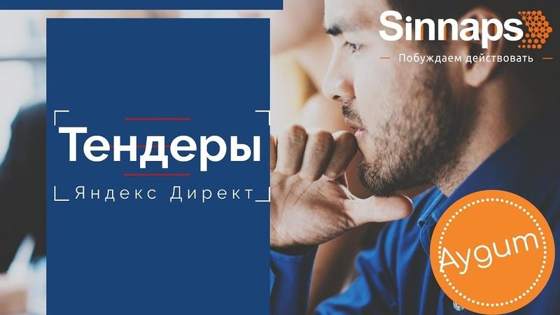 Аудит Яндекс Директ. Тендеры. Команда Sinnaps