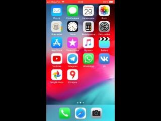 @telegram ios 12, iphone 7, app version 5.0.8