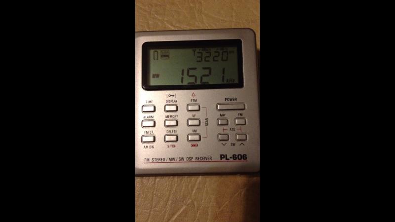 1521 Khz 06.04.18 17:55 UTC ; QTH- Samara