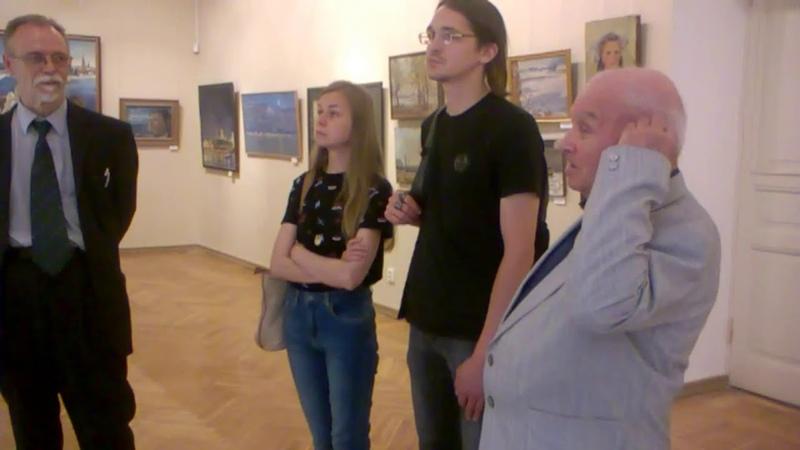 встреча с Заслуженным художников РФ В В Прошкиным