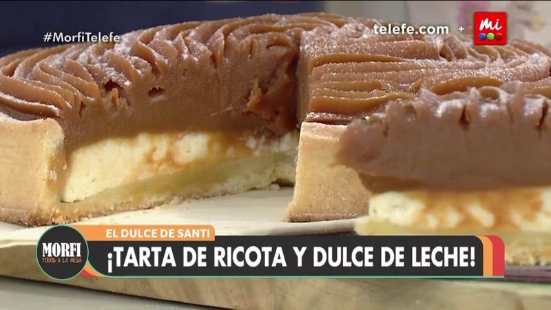 Tarta de ricota y dulce de leche - Morfi