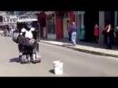 Funny Transformers  Человек - Трансформер. Прикол!