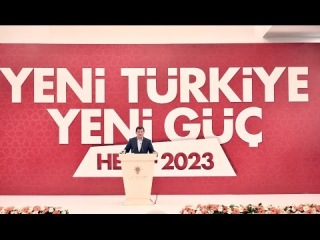 Başbakan Davutoğlu, 23. İstişare ve Değerlendirme Toplantısı Açılış Konuşması.1 Kasım 2014