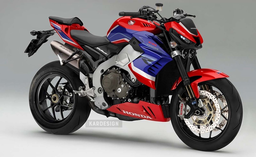 Kardesign: Концептуальные рендеры стритфайтера Honda CB1000RR-R