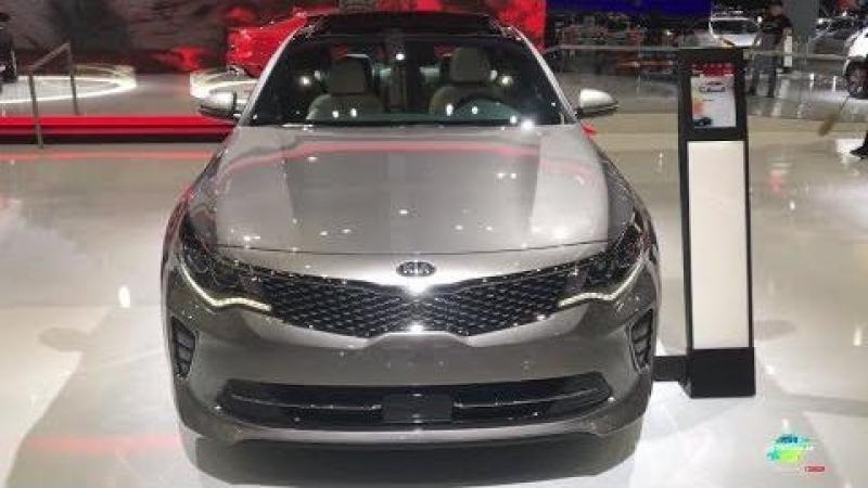 2018 Kia Optima SXL Exterior and Interior Walk around LA Auto Show