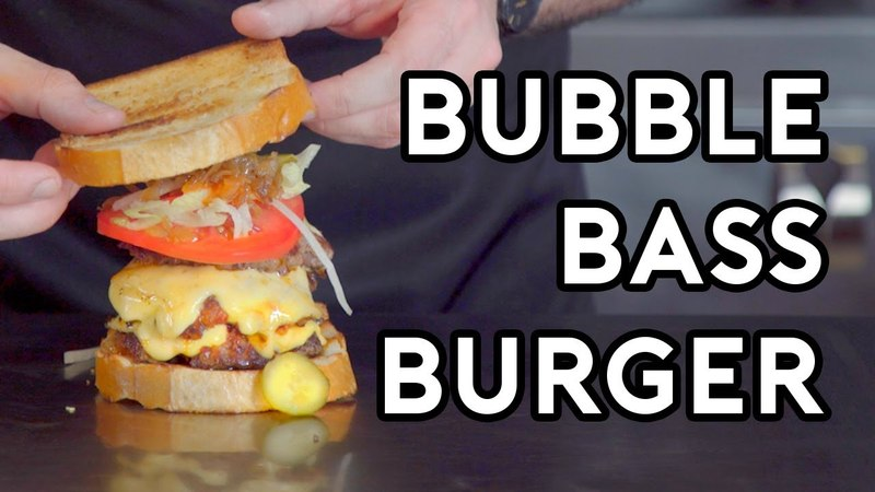 Binging with Babish Bubble Bass Order from Spongebob Squarepants