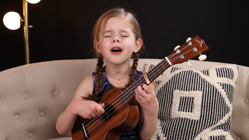 Cant Help Falling In Love - Elvis Cover by 6-Year-Old Claire Crosby