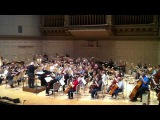 John Williams rehearses Luke and Leia with the Boston Pops