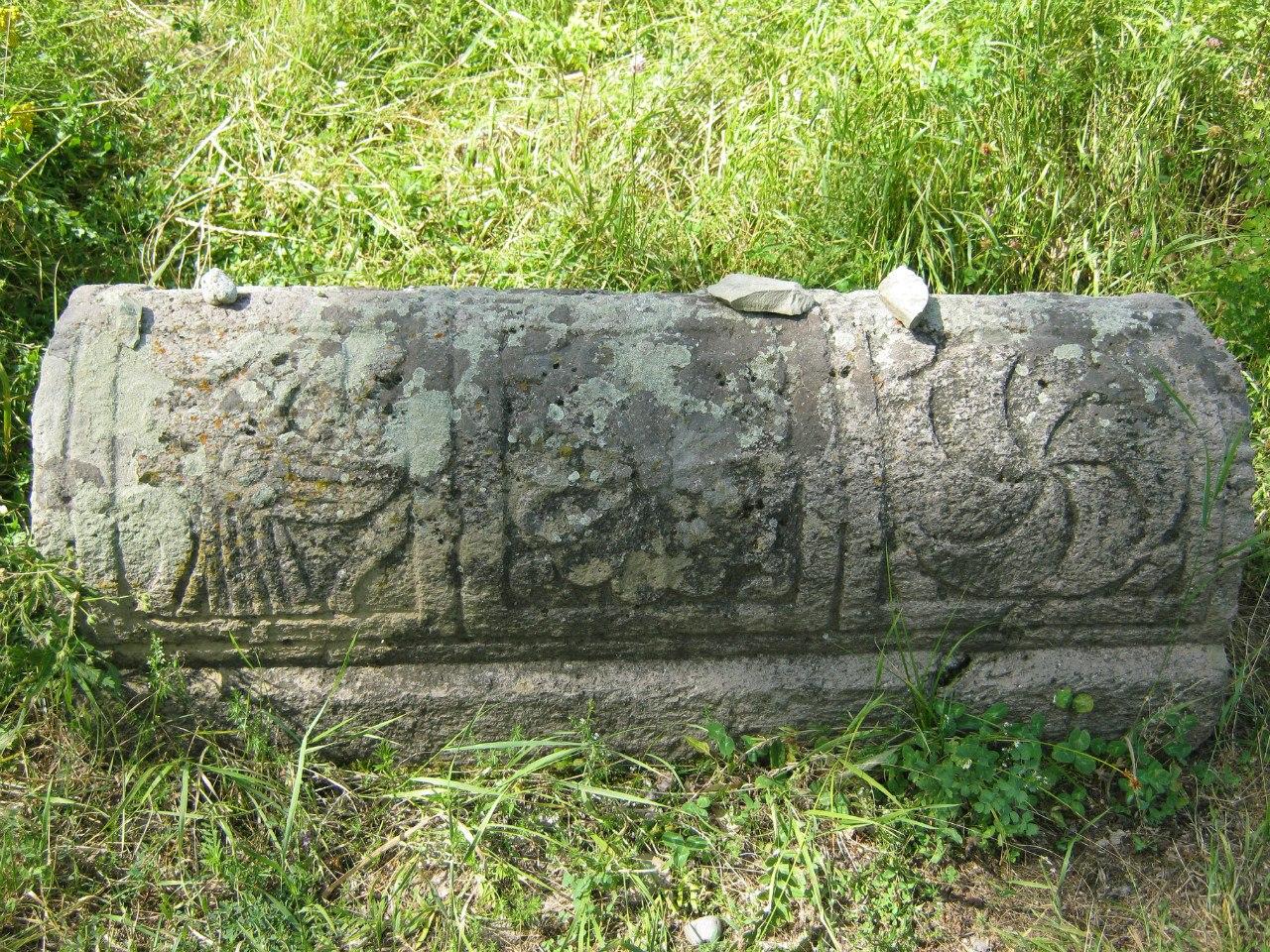 надгробный камень на еврейском кладбище в селе Егегис