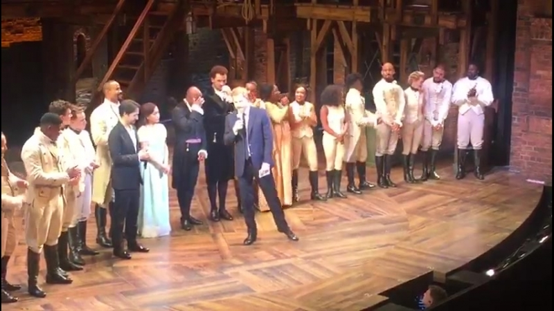 Prince Harry Joins 'Hamilton' Cast Onstage, and Breaks Into Song
