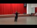 Открытый урок студии бального танца Партита 18 мая 2018 г