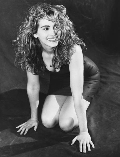 Очаровательная и молодая Джулия Робертс