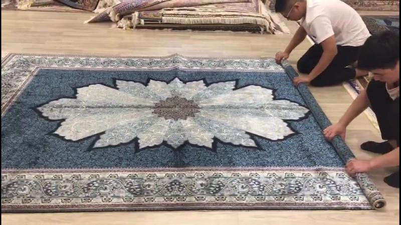 Handmade silk carpet oriental silk rug wool carpet area rug