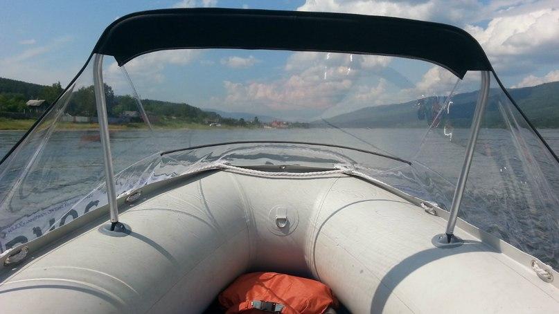 носовые тенты на лодку солар 420