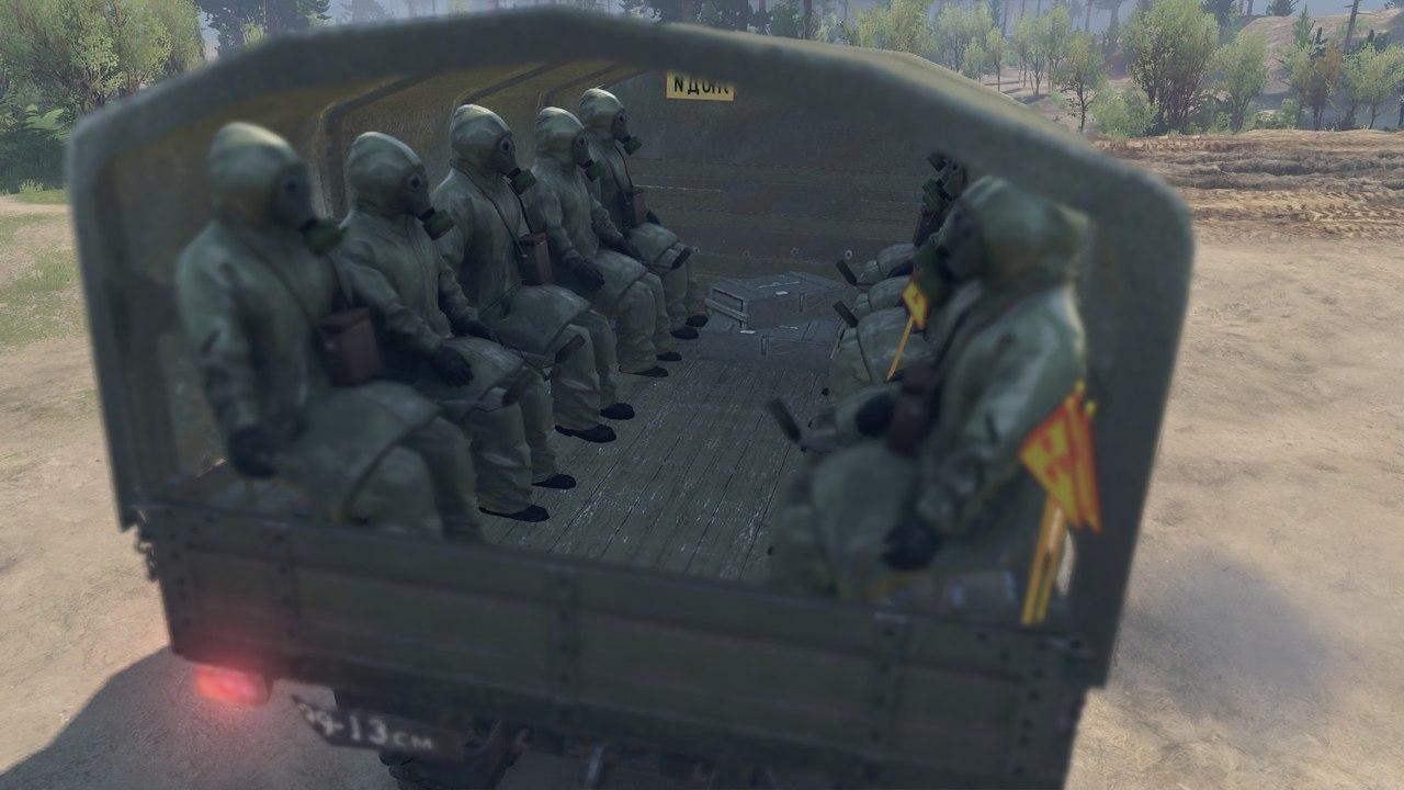 ZiL-131 (Chernobyl edition) для 03.03.16 для Spintires - Скриншот 2