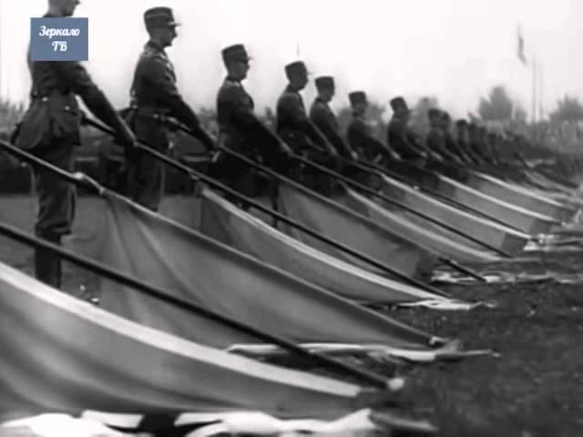 Утро фашизма Нюрнберг, 1934, Парад трудового фронта. Они более зловещи чем дивизии СС