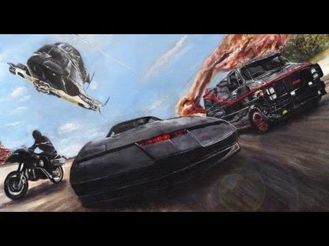 Peter Guja - Battle Of The 80's ( Airwolf , Knight rider , A-team , Streethawk tribute )