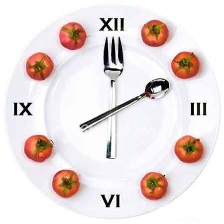 Питание по часам вместо диеты