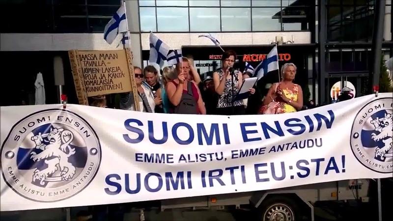 Suomi Ensin! - ITIS 3 Naiset puhuvat Helsinki, Itäkeskus 11.9.2016