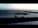 Вечерняя прогулка по набережной Дивноморска