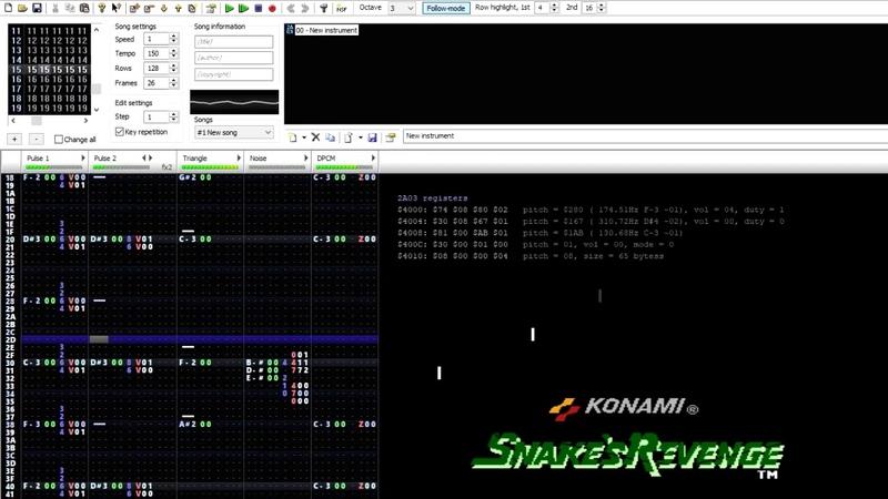 Metal Gear Snakes Revenge - Jungle Infiltration (0CC-Famitracker) [2A03] .ftm