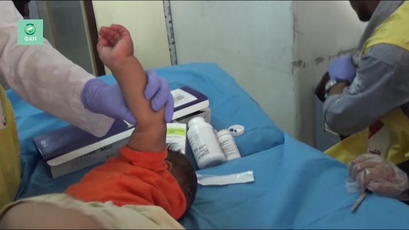 Сирия вакцинация от кори проходит в провинции Хасака