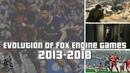 Evolution of Fox Engine Games 2013-2018