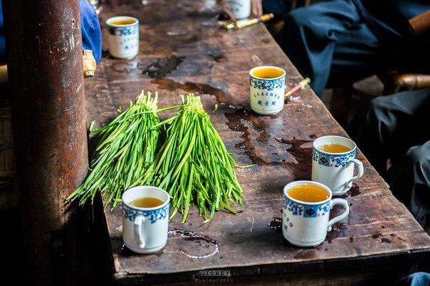 Как пьют чай в Китае фото