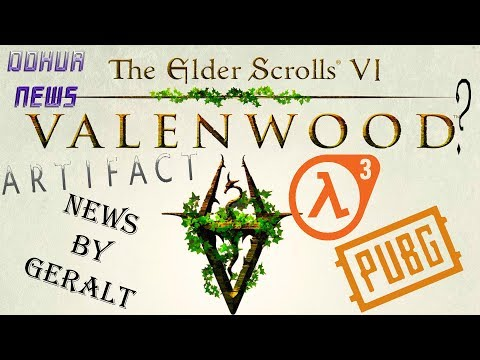 ИГРОНОВОСТИ-The Elder Scrolls 6, Atifact,PUBG,Geralt of Rivia,GTA 6