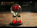 Вечная Роза в колбе от Розоваяроза.рф