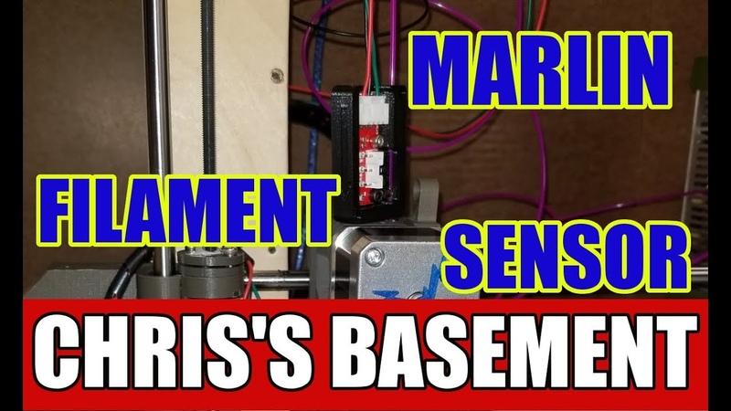 Filament Runout Sensor Native Marlin Chris's Basement