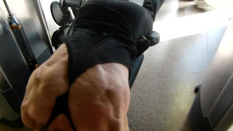 Helmut Strebl - legs hamstrings