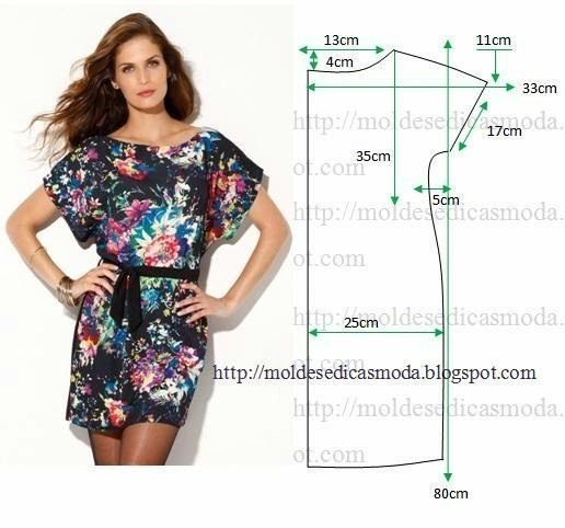 Как сшить прямое платье своими руками без выкройки 198