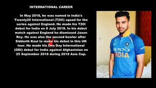 Deepak Chahar Indian Cricketer Biography With Detail