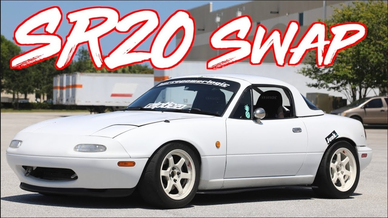 ROWDY SR20 Swap RHD Miata on BOOST! - Ricer Miata