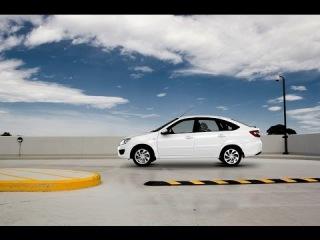 Первый обзор экстерьера Лада Гранта лифтбек LADA Granta liftback reveiw exterior