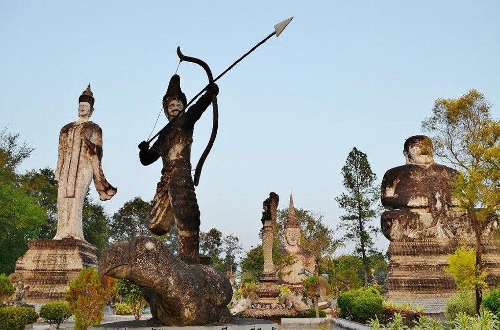 Парк Сала Кеоку. Тайланд OHeDqRfB0w4