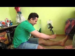 саня бреет ноги эпилятором или никогда не спорьте с девушкой