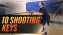 Basketball Shooting 10 Keys To A Perfect Jump Shot with NBA Skills Coach Drew Hanlen