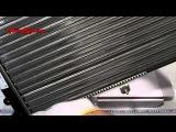 Радиатор охлаждения алюминиевый на ВАЗ 2108-21099, 2113-2115, инжектор, 21082-1301012, Лузар (Luzar)