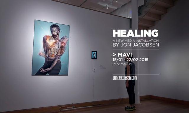 Healing @ MAVI (Museo de Artes Visuales). Santiago, Chile