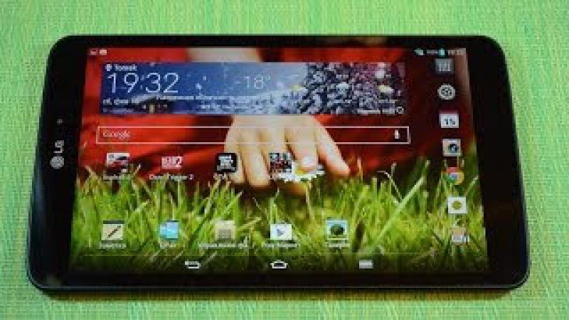 Обзор планшета LG G Pad 8.3 (V500) с Android 4.4 KitKat (review)