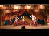Indian pop dance. song Chori Chori. Chakri dance